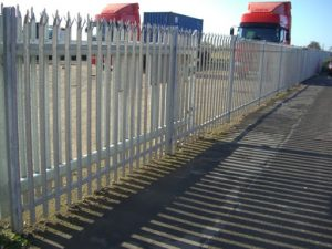 Glasgow Palisade Fenceing